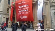 Türkei Demo in Istanbul Tag der Anwälte in Gefahr