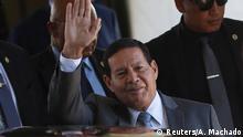 Brasilien neuer Vizepräsident Hamilton Mourao