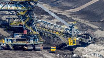 Добыча бурого угля в земле Бранденбург
