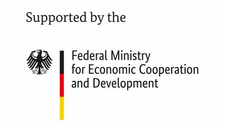 Logo BMZ Supported by the Federal Ministry for Economic Cooperation and Development