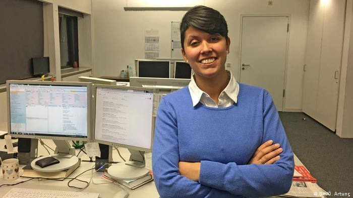 Deutschland DW Journalistin Jenipher Camino Gonzalez
