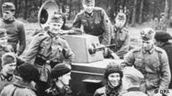 Panzer an der poln.-sowjet. Grenze 2. Weltkrieg