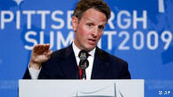 US-Finanzminister Timothy Geithner (AP Photo/J. David Ake)
