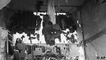 Zerstörung in Warschau nach Luftangriff der Deutschen 18.09.1939