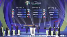 Copa America Brasilien 2019   Auslosung der Gruppenphase