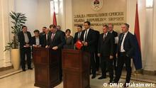 Bosnien-Herzegowina Treffen von Parteien aus Republika Srpska