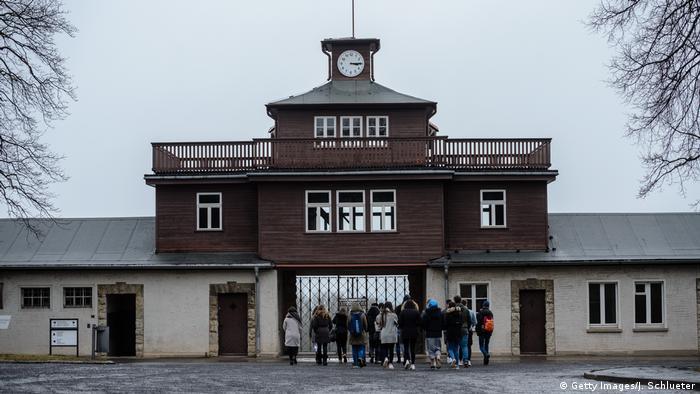 Deutschland ehemaliges Konzentrationslager Buchenwald (Getty Images/J. Schlueter)