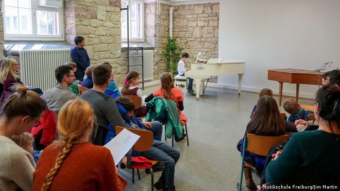 Musikschule Freiburg (Musikschule Freiburg/Jim Martin)