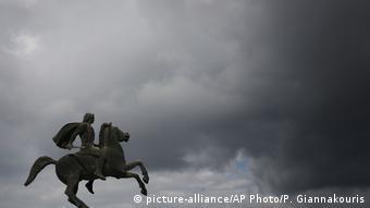 Το άγαλμα του Μεγάλου Αλεξάνδρου στη Θεσσαλονίκη
