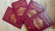Bulgarien Bulgarischer Pass