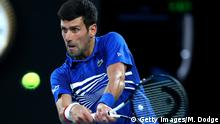 Tennis 2019 Australian Open - Day 12 Novak Djokovic