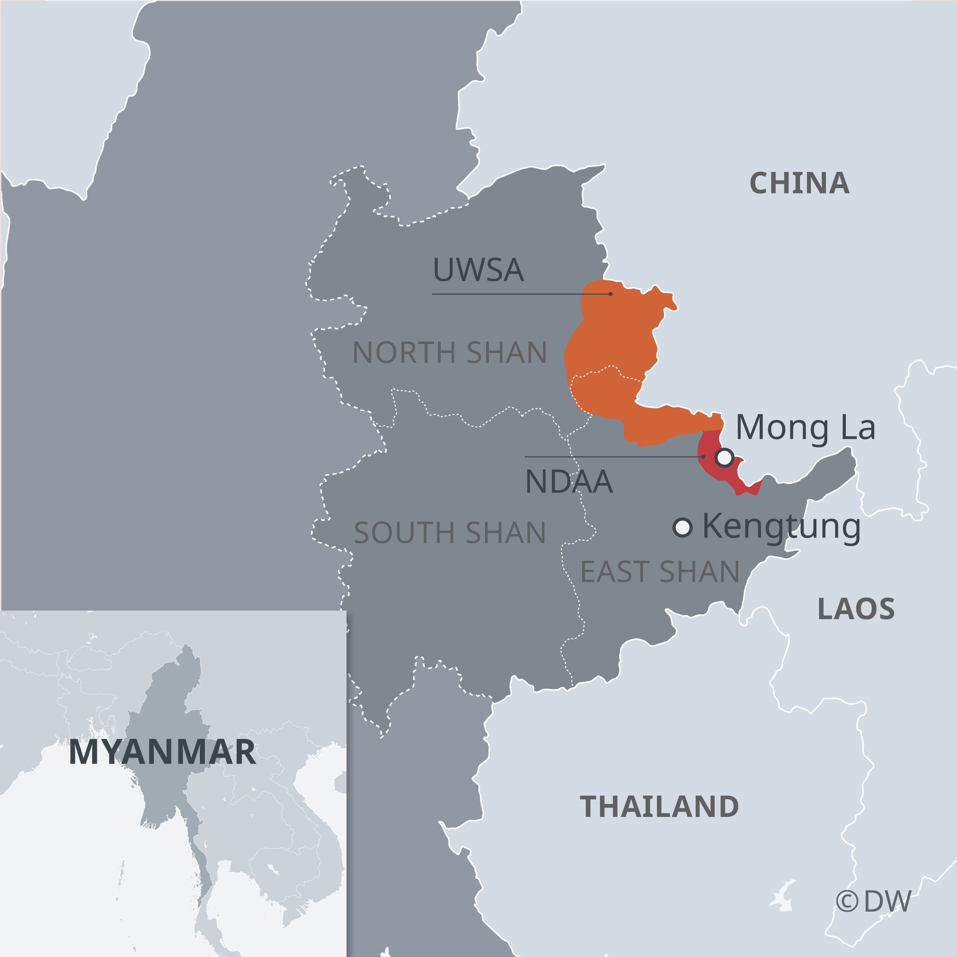 Thailand′s war on drugs targets meth from Myanmar | Asia| An in