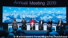 Diskussion 'Fourth Social Revolution'? der Jahrestagung 2019 des World Economic Forum in Davos