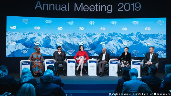 Diskussion 'Fourth Social Revolution'? der Jahrestagung 2019 des World Economic Forum in Davos (World Economic Forum/Sikarin Fon Thanachaiary)