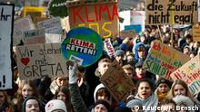 A student demonstration for climate protection in Berlin (Reuters/F. Bensch)