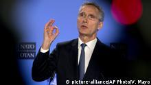 Belgien Brüssel NATO-Generalsekretär Jens Stoltenberg