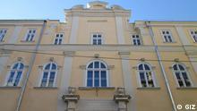 Renovierte Fenster in Schule 62 in Lwiw