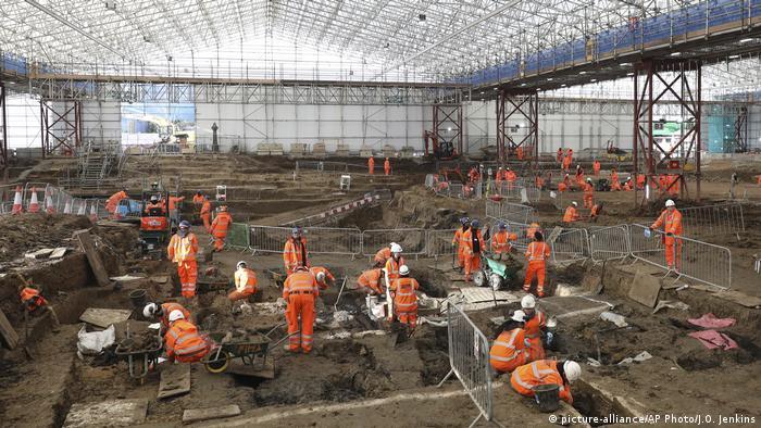 London Bahnhof Euston sterbliche Überreste des Forschungsreisenden Matthew Flinders entdeckt