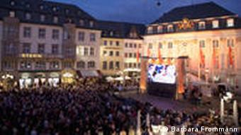 Outdoor concert at the Beethovenfest