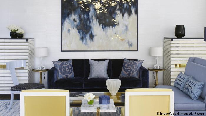 Bangkok apartment living room