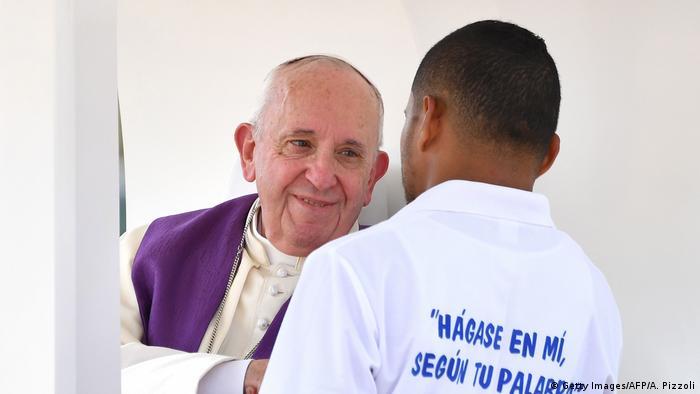 Papa u Panami.