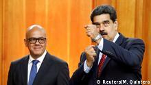 Venezuela Krise l Präsident Maduro - Machtkampf