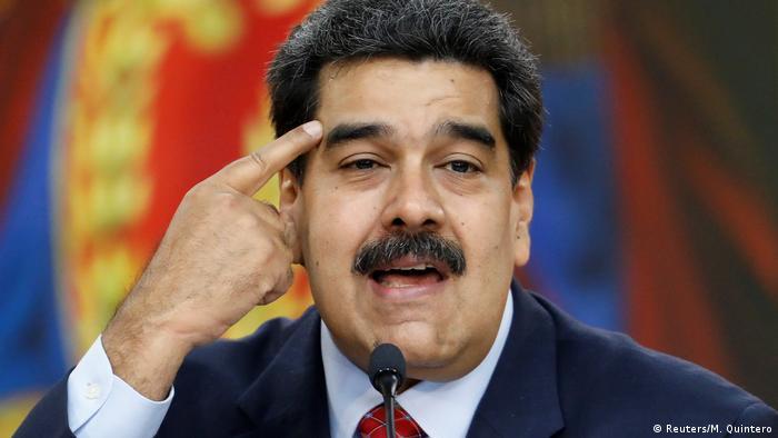 Venezuela Krise l Präsident Maduro - Machtkampf (Reuters/M. Quintero)