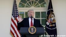 USA Krise Shutdown l Präsident Trump verkündet vorläufige Aufhebung der Haushaltssperre