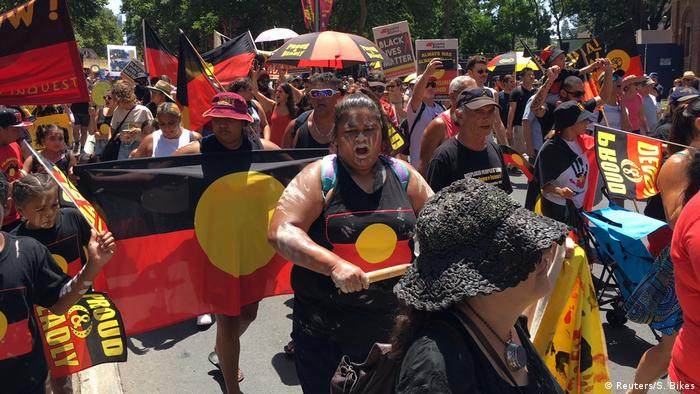 Australia Day protest in Sydney