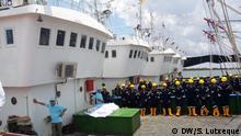 Mosambik | Chinesische Investitionen im Fischereisektor in Nampula | Chinesische Boote in Angoche