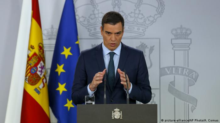 Spanien Pedro Sanchez