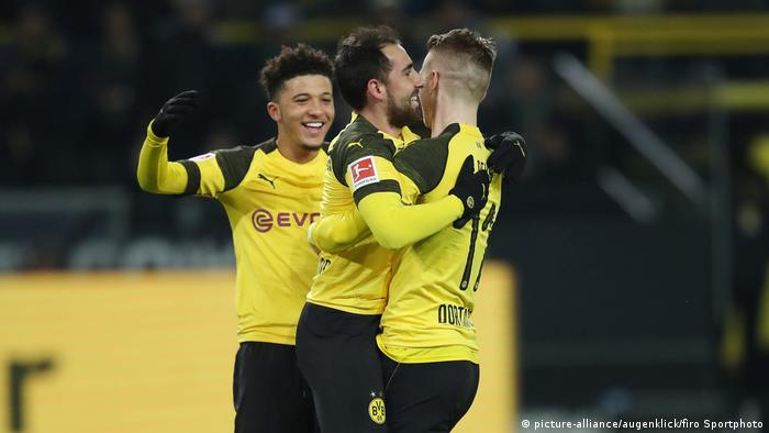 German Cup Borussia Dortmund Aim To Keep Fighting On Three