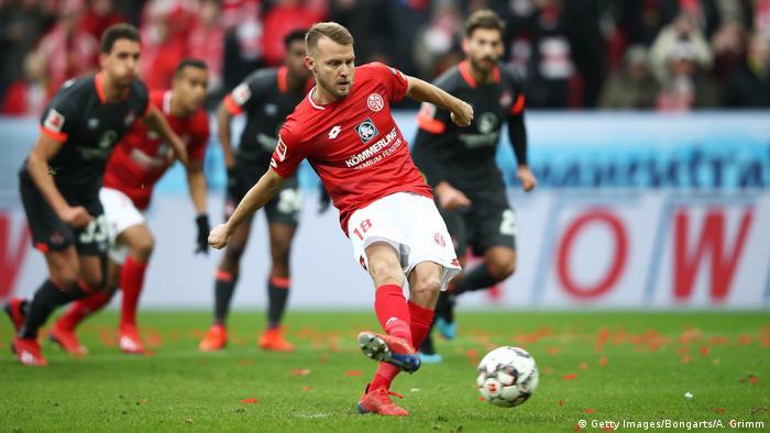 Fußball Bundesliga | 19. Spieltag | 1. FSV Mainz 05 - 1. FC Nürnberg | 1:0 (Getty Images/Bongarts/A. Grimm)