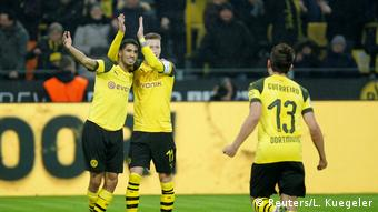 Fußball Bundesliga   19. Spieltag   Borussia Dortmund - Hannover 96   1:0