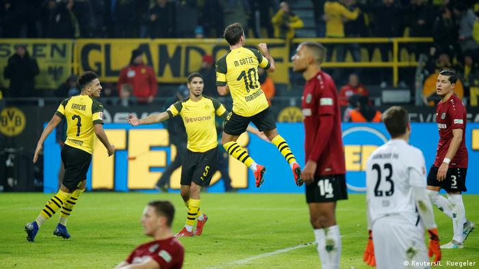 Fußball Bundesliga   19. Spieltag   Borussia Dortmund - Hannover 96   Torjubel 3:0