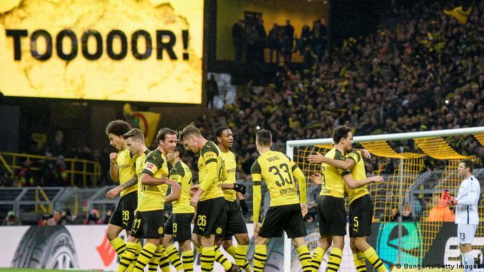Fußball Bundesliga   19. Spieltag   Borussia Dortmund - Hannover 96   Torjubel