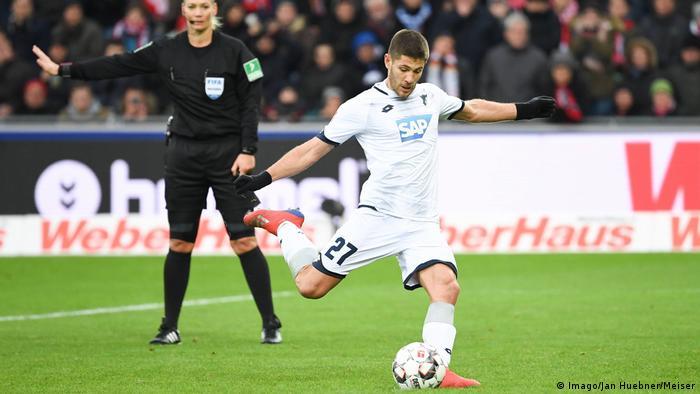 Fußball Bundesliga | 19. Spieltag | SC Freiburg vs TSG 1899 Hoffenheim | Jubel (1:2) (Imago/Jan Huebner/Meiser)