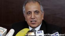 Afghanistan | Zalmay Khalilzad (picture-alliance/AP Photo/R. Maqbool)