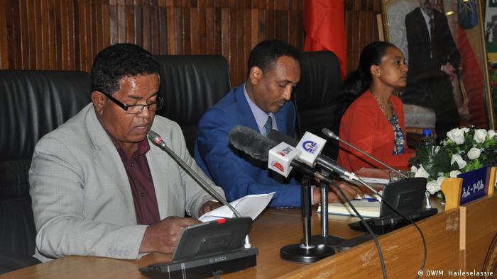 Äthiopien   Tigray region council meeting