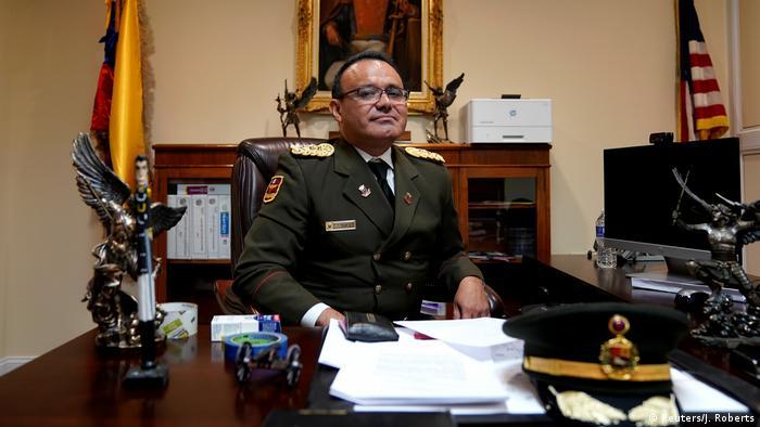 Военный атташе посольства Венесуэлы в Вашингтоне Хосе Луис Сильва