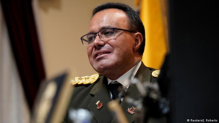 Jose Luis Silva, Militäroffizier von Venezuela (Reuters/J. Roberts)