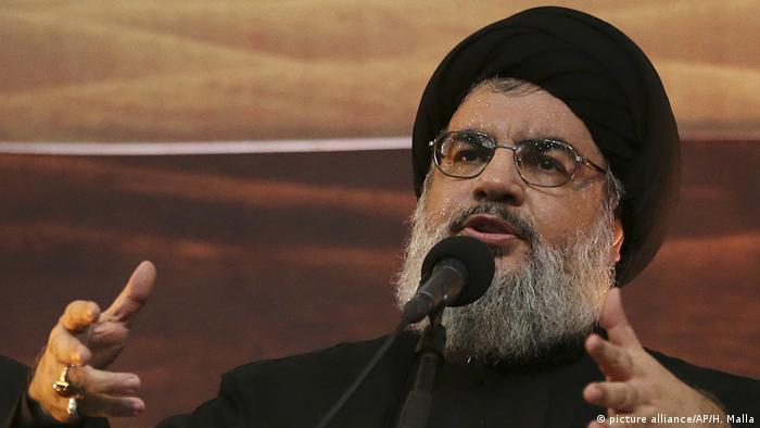 Hassan Nasrallah (picture alliance/AP/H. Malla)
