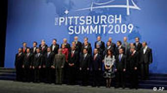 World Leaders at G20 Pittsburgh