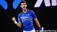 Tennis Australien Open Novak Djokovic