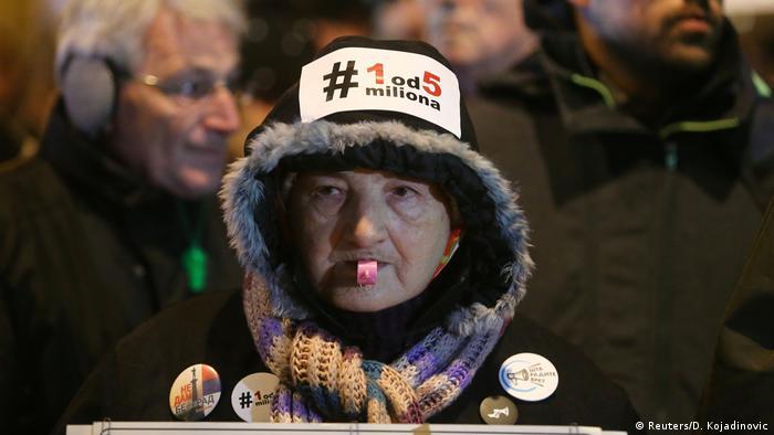 Serbien | Proteste gegen Präsident Vucic