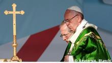 Panama Papst Franziskus zu Besuch beim Weltjugendtag