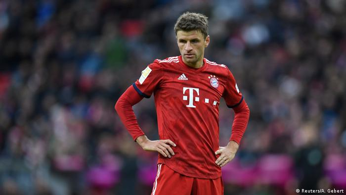 Thomas Müller has struggled for goals this season