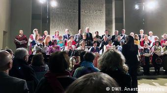 Η Χορωδία της DW στη συναυλία του Βερολίνου