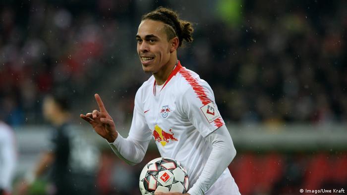 Fußball Bundesliga | 19. Spieltag | Fortuna Düsseldorf - RB Leipzig | Jubel (0:3) (Imago/Uwe Kraft)