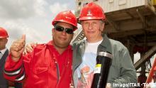 Venezuela PDVSA-Mitarbeiter und Rosneft-Präsident Igor Sechin